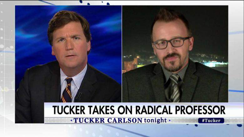 Tucker Battles Prof Offended by Airplane Passenger Giving 1st-Class Seat to Soldier