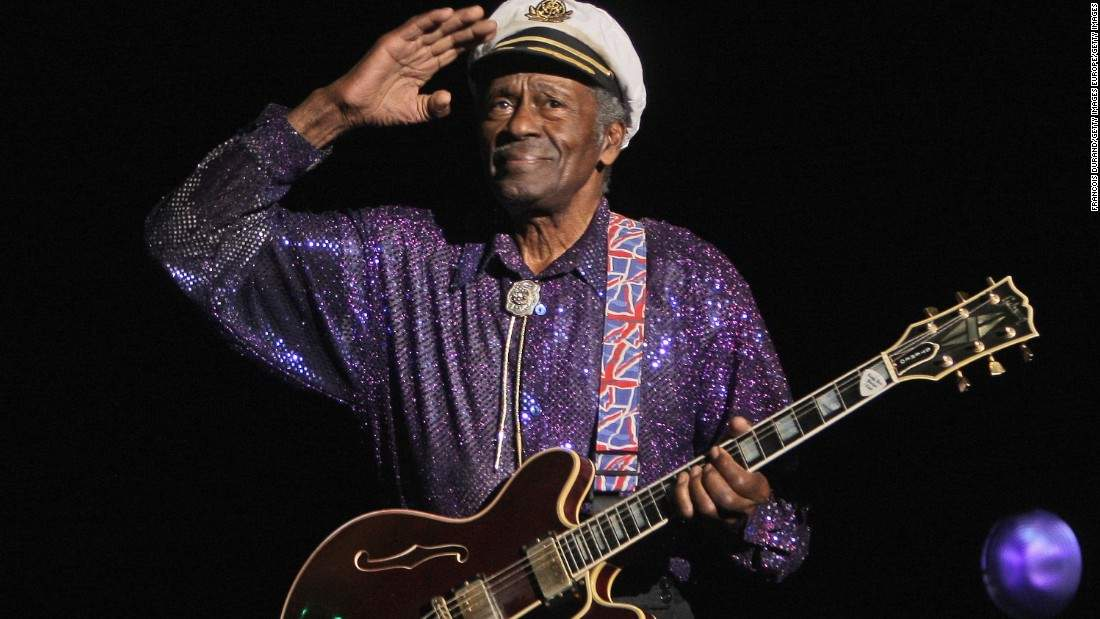 Chuck Berry didnt just cross barriers -- he obliterated them