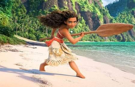 Disneys Moana Tops Thanksgiving Holiday Box Office