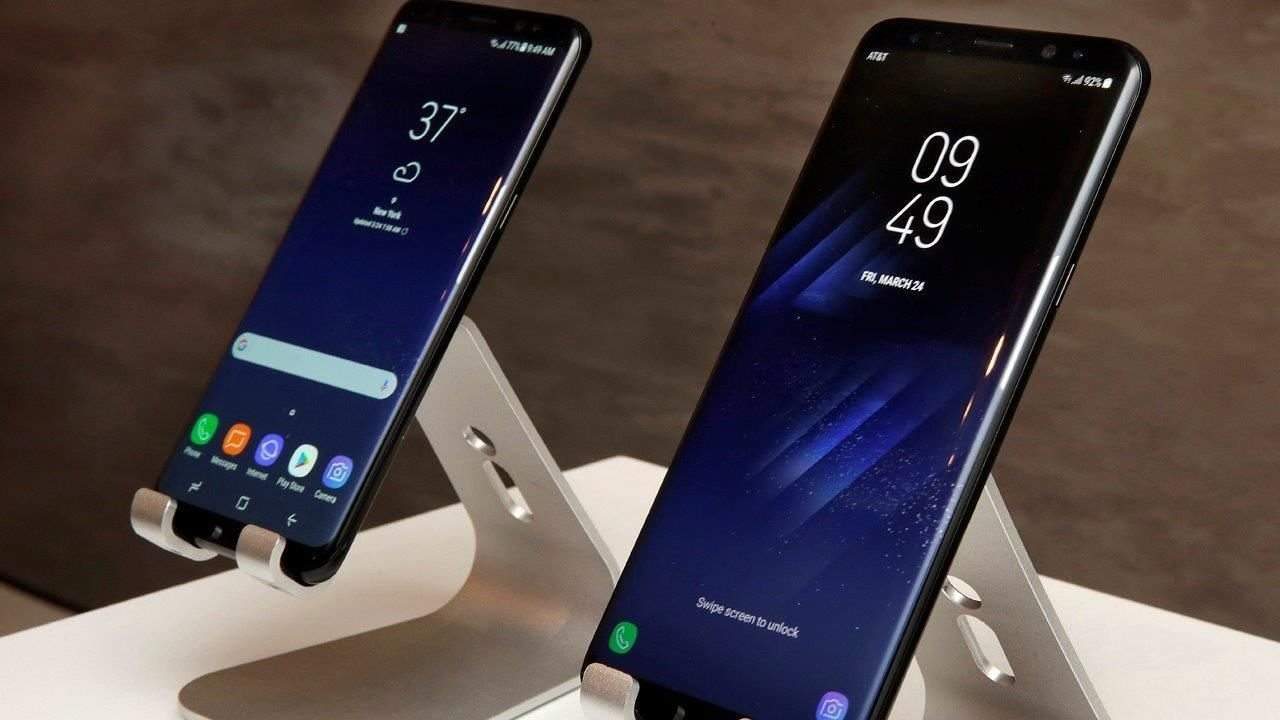 Samsung just unveiled its new Galaxy S8 smartphone