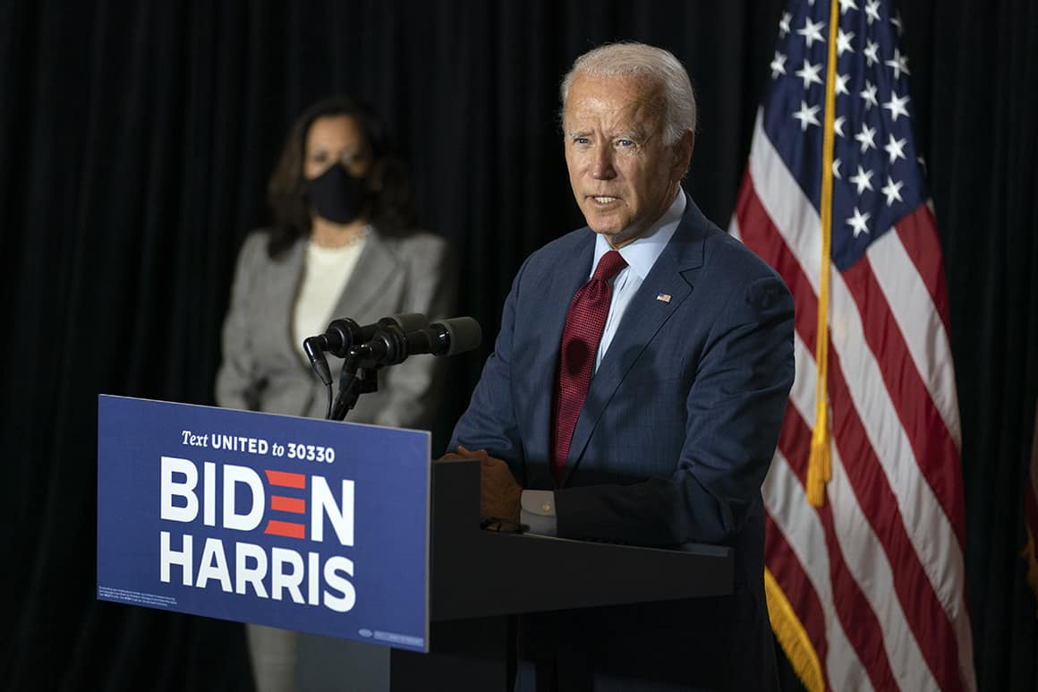 What Harris Got from Biden During Her Job Interview