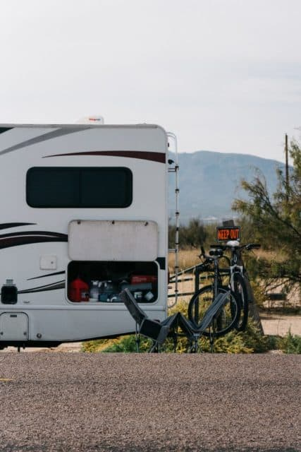 """I Live On My Own In a 26′ Camper."""