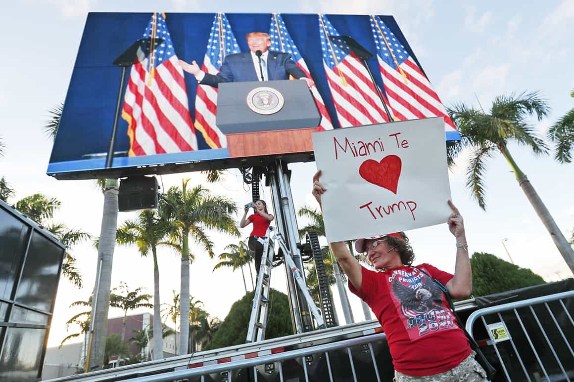 'What do we do?': Trump gains rattle Miami Dems