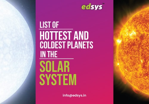 List of Hottest and Coldest Planets in the Solar System