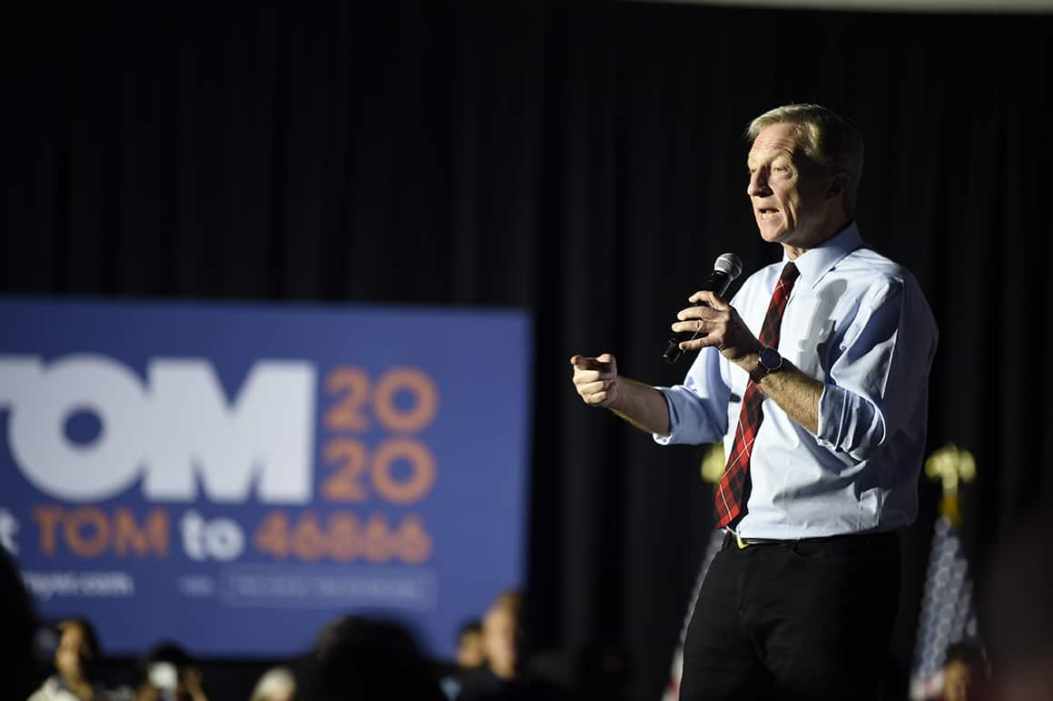 Tom Steyer meets with Biden officials, interested in a role in administration
