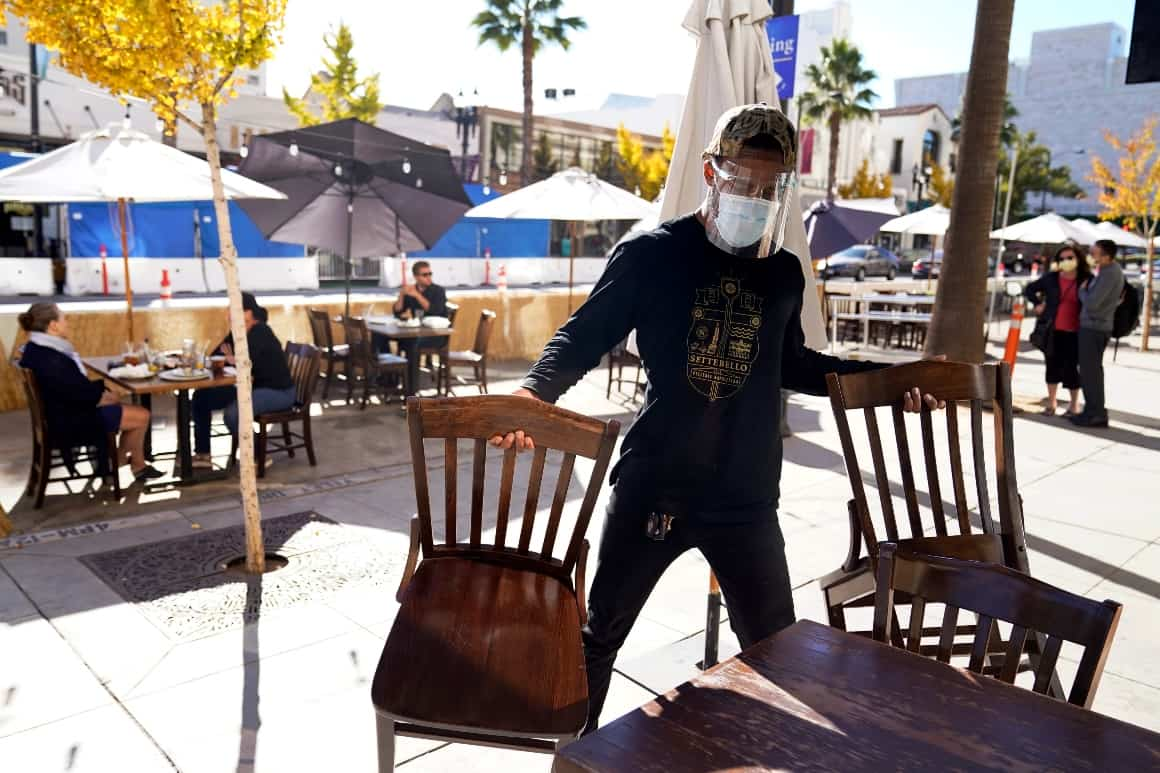 California judge says L.A. officials 'arbitrarily' set outdoor dining ban