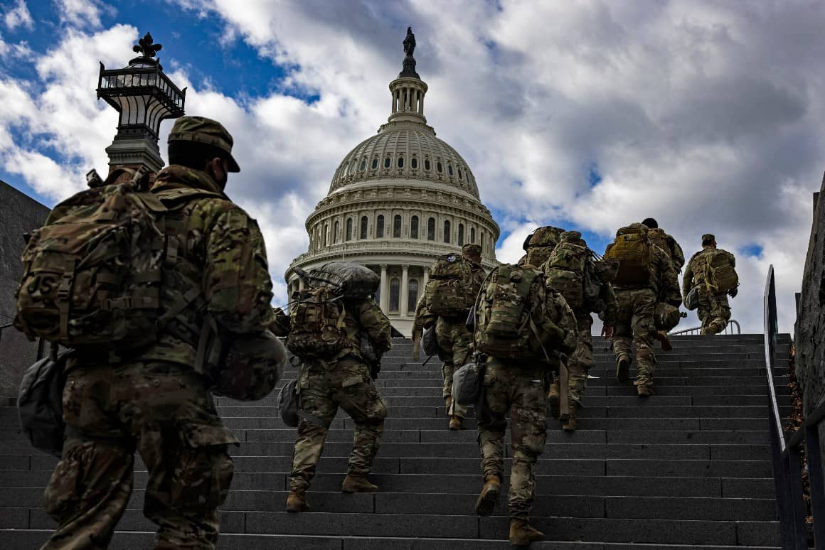 Fearing inside attack, FBI vetting Guard troops in D.C.