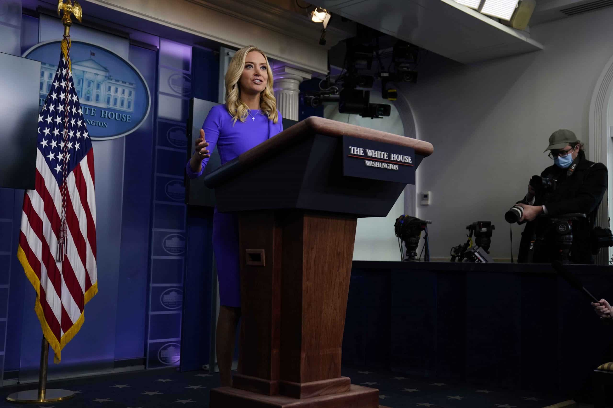 McEnany: Capitol insurrection spoiled plans for a farewell press conference