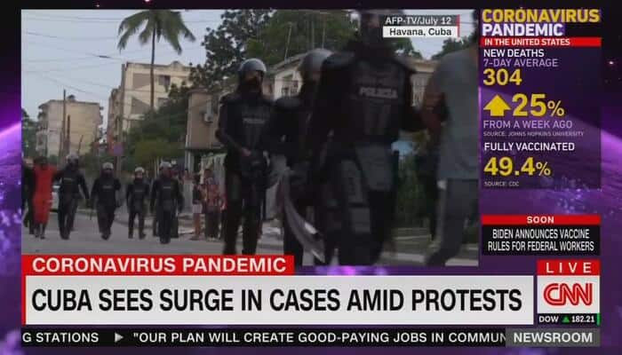 CNN Is Suddenly Concerned About Protests Becoming COVID Superspreader Events
