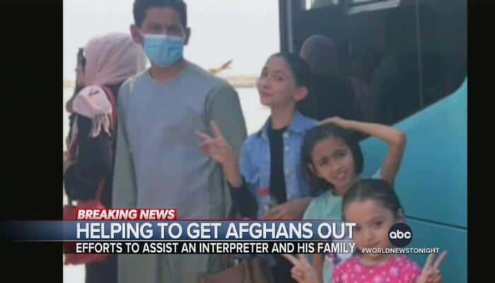 ABC Helps Rescue Afghan Interpreter, Family Before Biden Would Abandon