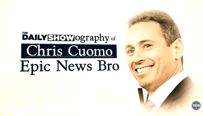 'The Daily Show' Savages 'Epic News Bro' Chris 'Mother Fredo' Cuomo