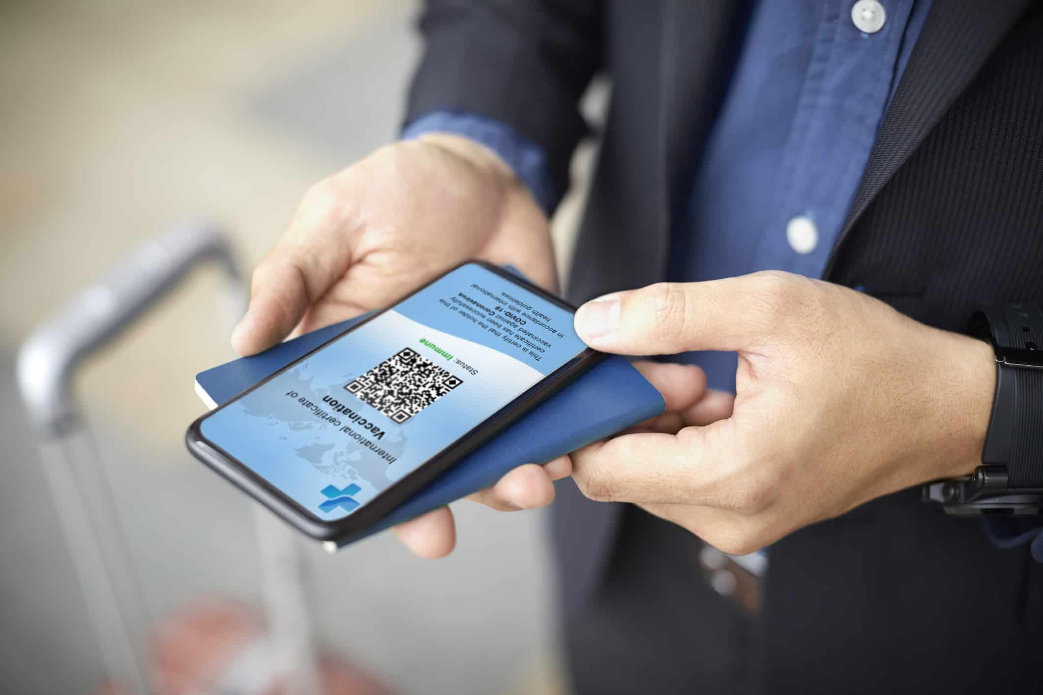 Vaccine passport app leaks users' personal data